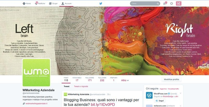 Twitter Web Marketing Aziendale