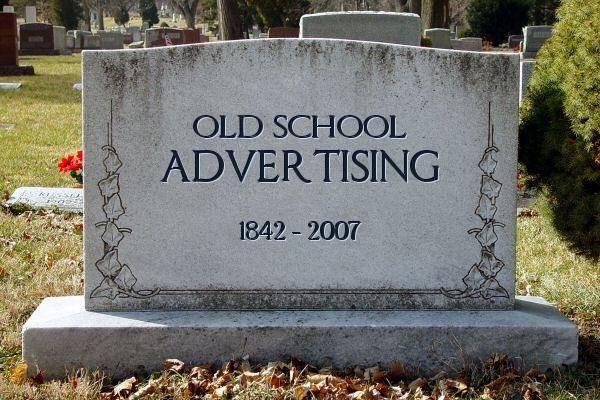 old school marketing