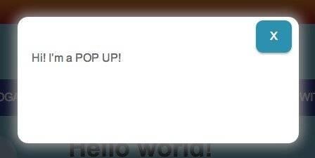 Exit Pop Up