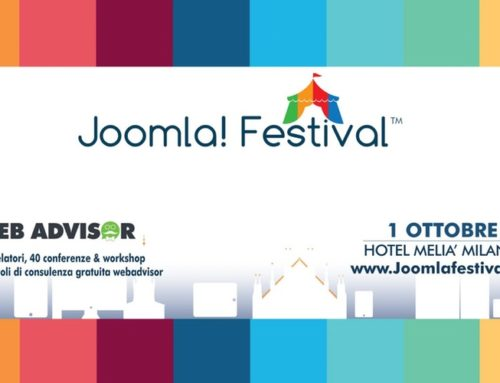 Joomla Festival, ci vediamo a Milano