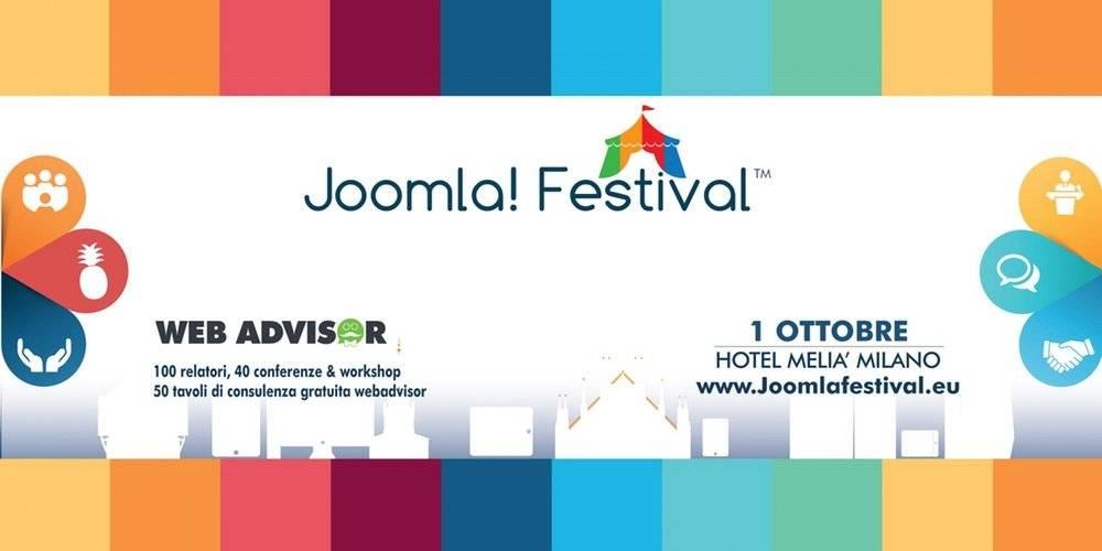 Joomla Festival, ci vediamo a Milano 1
