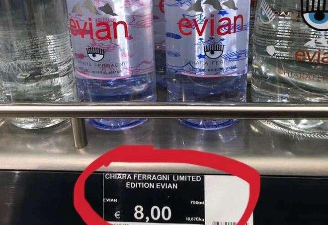 Evian Chiara Ferragni Limited Edition