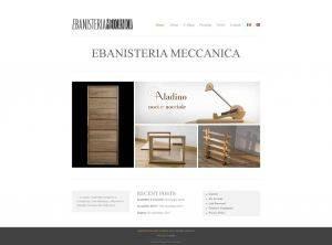 eCommerce di Ebanisteria Meccanica